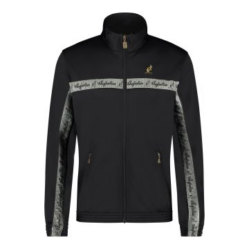Australian veste bande de poitrine argentée 2.0 | noir