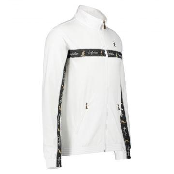 Australian veste bande noire sur poitrine 2.0 | blanc