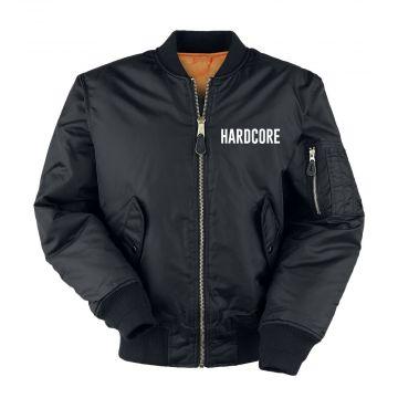 Hard-Wear bomberjack hardcore | zwart