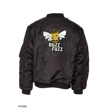 Buzz Fuzz (EXCLUSIF) bomberjack logo brodé | noir