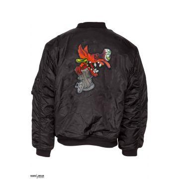 BZRK (EXCLUSIF) bomberjack logo brodé | noir