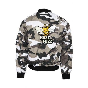 Buzz Fuzz (EXCLUSIF) bomberjack logo brodé | camouflage