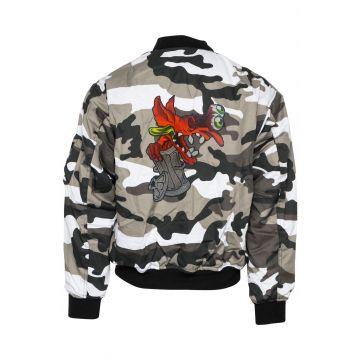 BZRK (EXCLUSIF) bomberjack logo brodé | camouflage
