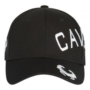 Cavello casquette logo croisée brodé blanc | noir