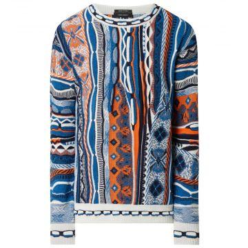 Carlo Colucci pull en tricot 591 | multicolore