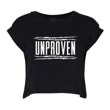 Unproven croptop logo | noir