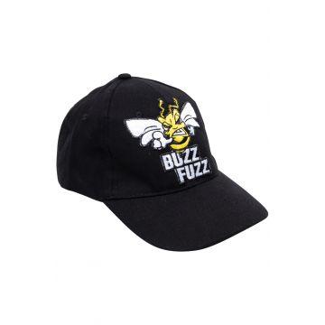 Buzz Fuzz Casquette Logo brodé | noir