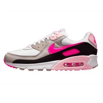 Nike Air Max 90 Women | white/black/college grey/hyper pink