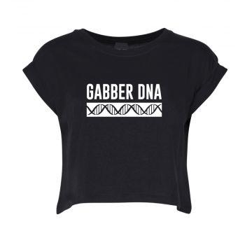 Hard-Wear Croptop Femmes DNA   noir