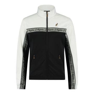 Australian veste duo bande de poitrine argentée 2.0 | noir - blanc