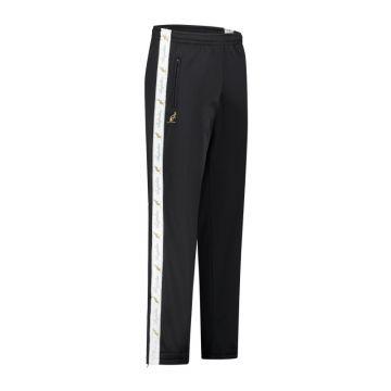 Australian pantalon avec bande blanche et 2 fermetures éclair 2.0 | noir