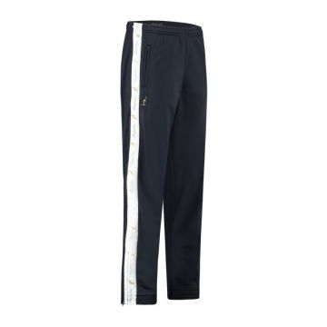 Australian pantalon avec bande blanche et 2 fermetures éclair 2.0   bleu marine