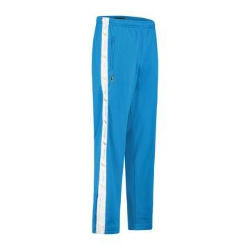 Australian pantalon avec bande blanche et 2 fermetures éclair 2.0   Capri bleu