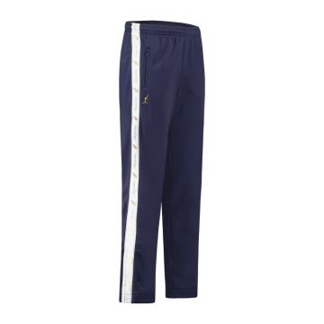 Australian pantalon avec bande blanche et 2 fermetures éclair 2.0   cosmo bleu