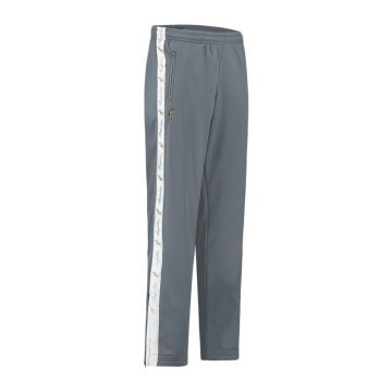 Australian pantalon avec bande blanche et 2 fermetures éclair 2.0   gris foncé