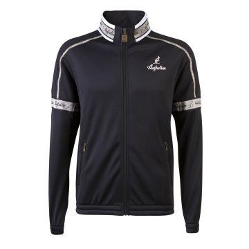 Australian acétate veste avec bande grise sur le cou | noir