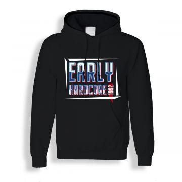 Hard-Wear hooded sweater Early Hardcore 1992   zwart