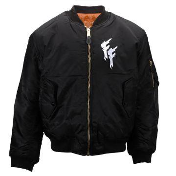 Frantic Freak (EXCLUSIF) bomberjack logo brodé | noir