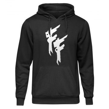 Frantic Freak Pull à capuche Logo | noir