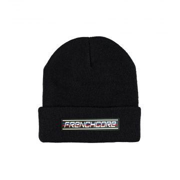 Frenchcore bonnet avec broderie sports   noir