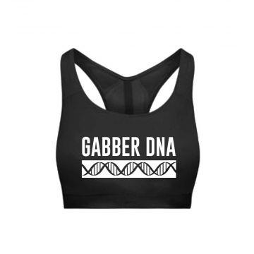 Hard-Wear Femmes Sporttop DNA   noir