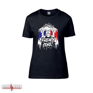 Hard-Wear Frenchcore dames t-shirt   blindfolded