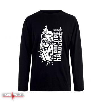 Hard-Wear Chemise à manches longues Hardcore Worldwide!   noir