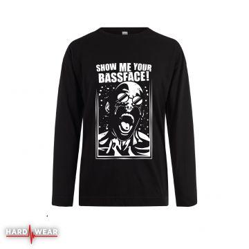 Hard-Wear Chemise à manches longues Show Me Your Bassface!   noir