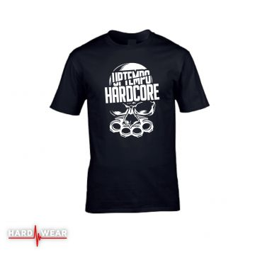 Hard-Wear T-shirt Uptempo Hardcore | noir