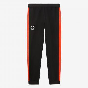 Australian Hard Court pantalon de jogging avec bande en lave oeuvre sourire