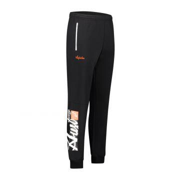 Australian sportswear pantalon de jogging à imprimé logo rectangulaire   noir