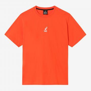 Australian Hard Court T-shirt illustration d'ange au dos | lave