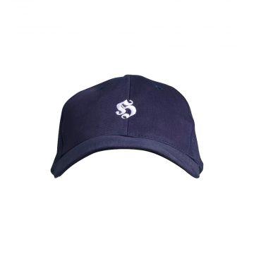 Hooligan casquette de base logo brodé   bleu marin