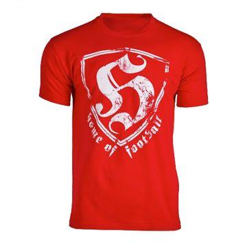 Hooligan T-shirt HOF vintage   rouge