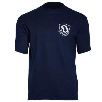 Hooligan T-shirt Home Of Football   bleu marin