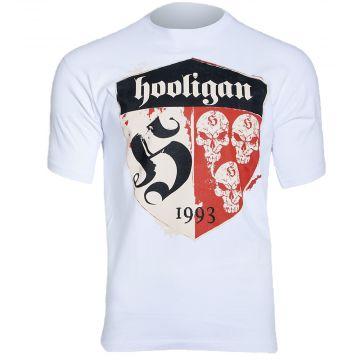 Hooligan T-shirt Shelter   blanc