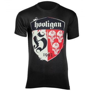 Hooligan T-shirt Shelter   noir