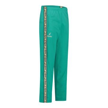 Australian pantalon avec bande dorée et 2 fermetures à glissière | turquoise