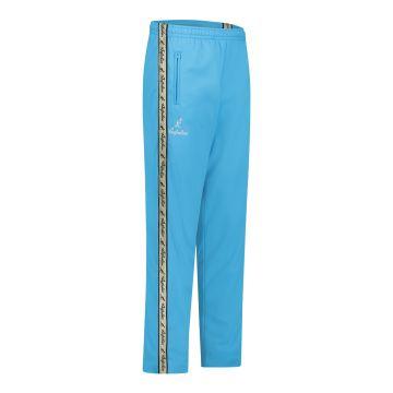 Australian pantalon avec bande dorée et 2 fermetures éclair   schtroumpf bleu