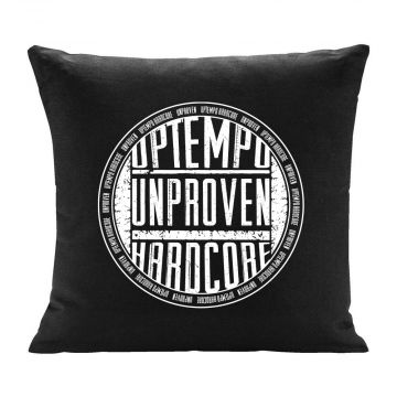 Unproven coussin uptempo hardcore imprimé logo rond