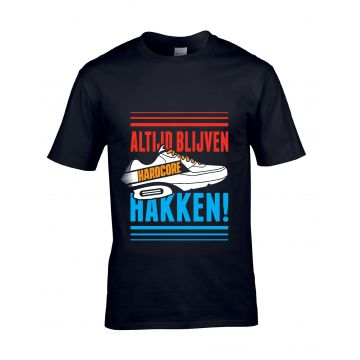 Hard-Wear t-shirt | ALTIJD BLIJVEN HAKKEN! X Holland editie