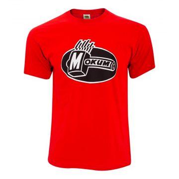 Mokum T-shirt Glow In The Dark | rouge