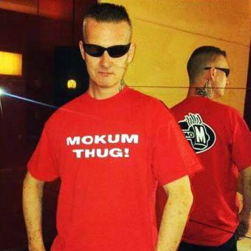 Mokum Records T-shirt Thug | rood