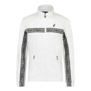 Australian veste bande argentée sur poitrine 2.0 | blanc