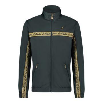 Australian veste bande de poitrine dorée 2.0 | bois vert