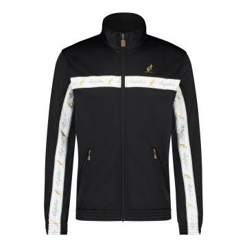 Australian veste bande de poitrine blanche 2.0 | noir
