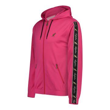 Australian veste avec capuche et bande noire sur les manches 2.0 | rose
