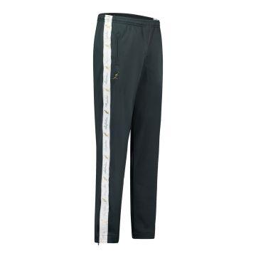 Australian pantalon avec 2 fermetures éclair et bande blanche 2.0 | bois vert