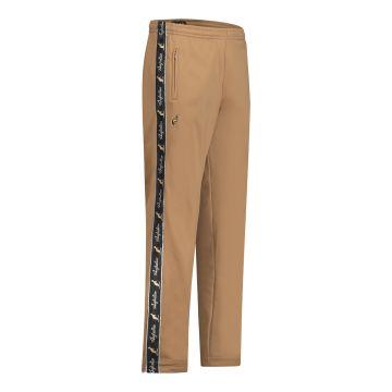 Australian pantalon avec 2 fermetures éclair et bande noire 2.0 | bronze