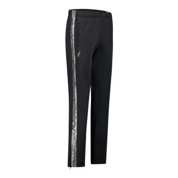 Australian pantalon avec bande argentée et 2 fermetures éclair 2.0 | noir